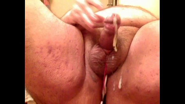 Chubby bear with Aneros and tied cock – XT – wobbeler