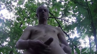HOT HUGE CUM WITH HANDJOB IN THE WOOD, FULL VERSION, AMATEUR SOLO MALE – LONDON