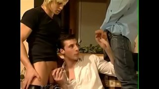 threesome orgy with Dennis Reed